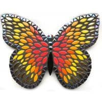 Kit - Admiral Butterfly 25cm- Black/Red/Gold