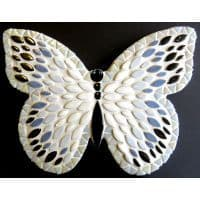 Kit - Admiral Butterfly 25cm - White/Blue/Silver