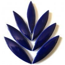 Large Ceramic Petals - Indigo (8 Tiles)