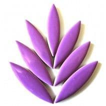 Large Ceramic Petals - Purple (8 Tiles)