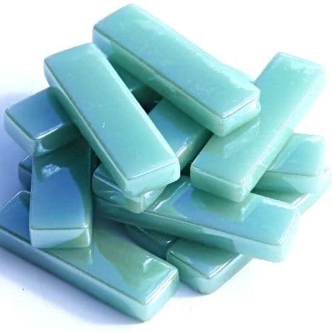 Rectangles - Jade Green Pearlised - 50g