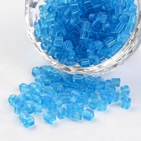 Seed Beads Cube - 6/0 - Turquoise - 50g