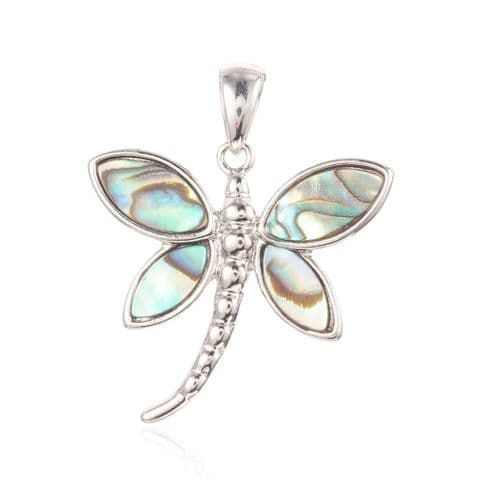 Shell Pendants - Dragonfly - 1 piece