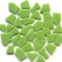 Snippets Glass Shapes - Apple Green - 500g