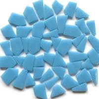 Snippets Glass Shapes - Baby Blue - 500g