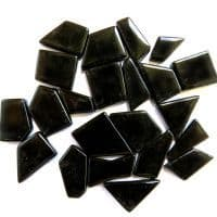 Snippets Glass Shapes - Black - 500g