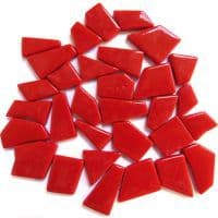 Snippets Glass Shapes - Chilli Red - 500g