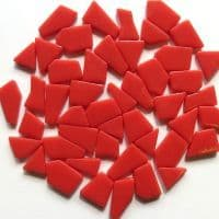 Snippets Glass Shapes - Coral Red - 500g