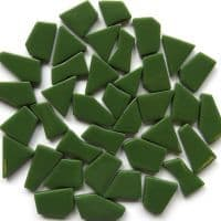 Snippets Glass Shapes - Dark Green - 500g