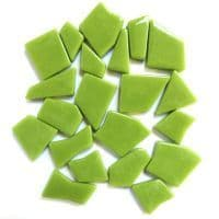 Snippets Glass Shapes - Green Grass - 100g
