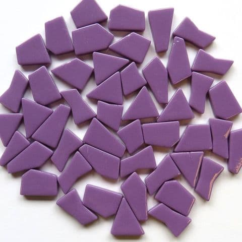 Snippets Glass Shapes - Magenta - 500g
