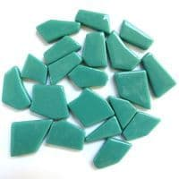 Snippets Glass Shapes - Mint Green - 500g