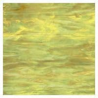 Stained Glass Strips - Lime Amber Opaque