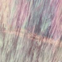 Stained Glass Strips - Wispy White Iridescent