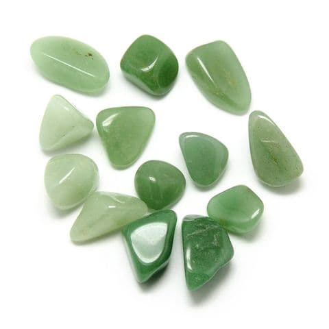 Stones - Natural Aventurine 17~34mm - 5 pieces