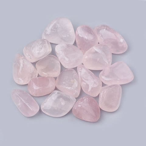 Stones - Natural Rose Quartz 19~30mm - 100g