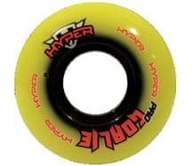 Hyper Pro Inline Hockey Goalie Wheel - 76A - 59mm (8 Pack)