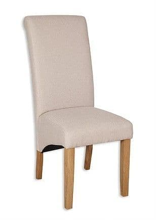 AOC pair of natural dining chairs