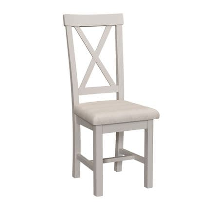 Pair of  Romford Painted dining chairs