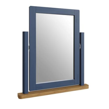 Radford Blue Trinket Mirror