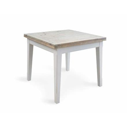 Signature Grey Square Extending Dining Table