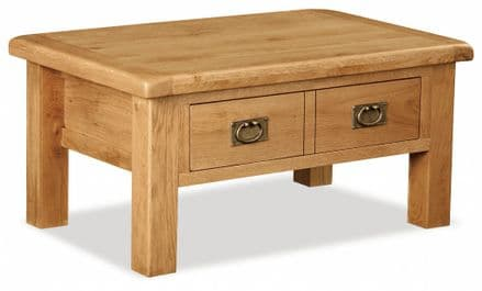 Suffolk Coffee Table with Drawer