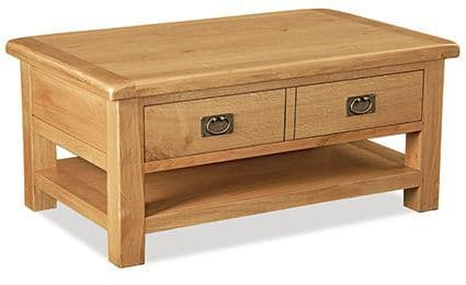 Suffolk Large Coffee Table with Drawer