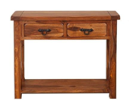 Vellar Indian Sheesham Console Table