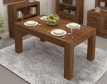 Walnut Dining Table (4 Seater) Chairs sold separately