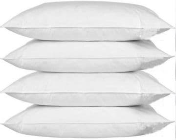 4x Pillow Protectors Standard Size Washable Dust Mite Proof Guard