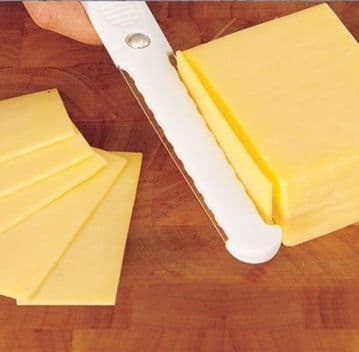 Cheese Slicer Thick & Thin Slices Double Sided Fast Hard Soft Cutter