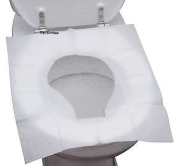 Disposable Toilet Seat Covers Flushable Camping Festival Travel