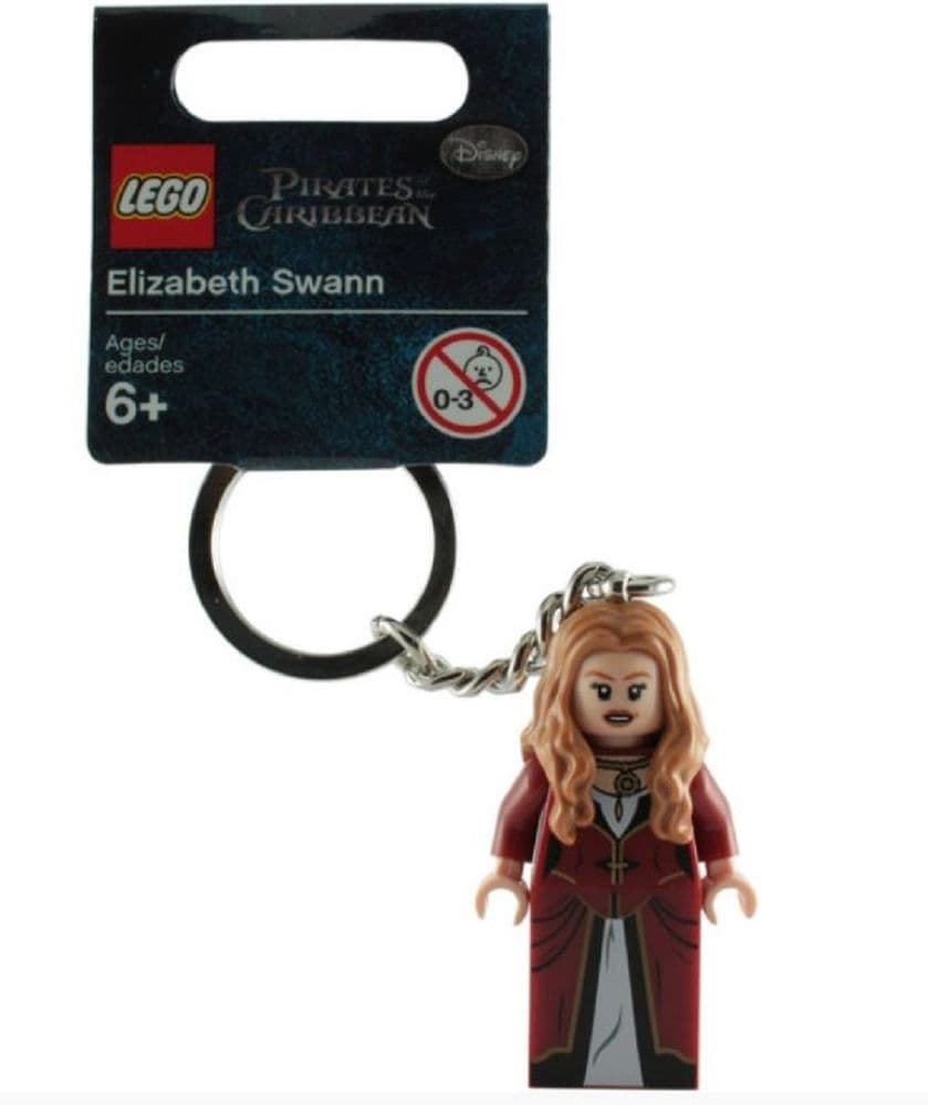 Elizabeth Swan Keychain Pirates of the Caribbean