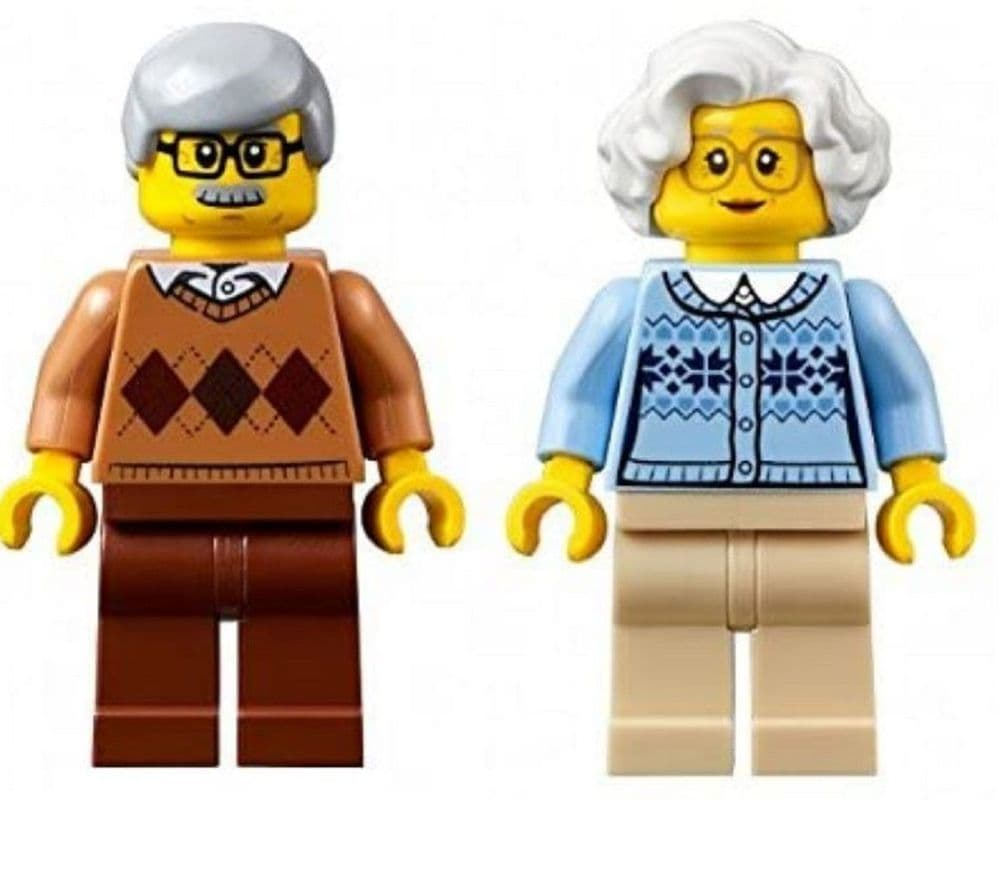 Grandma and Grandad Minifigures