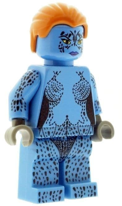 Mystique - Custom Designed Minifigure
