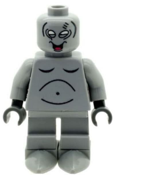 Roger Smith Also Known as Wogir (American Dad) - Custom Designed Minifigure