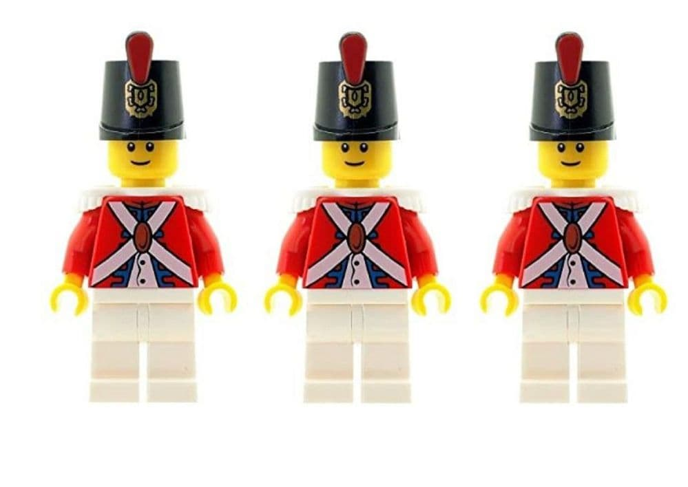 Set of 3 Imperial Guard Minifigures