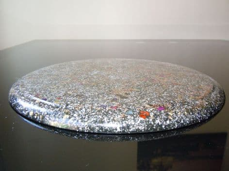 "13"" (33cm) 23k Orgone Charging and Clearing Disc/Plate/Placemat (1)"