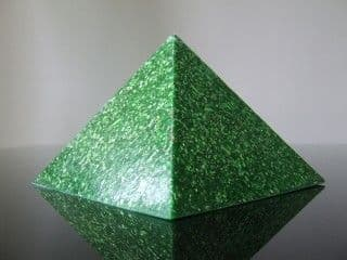 Orgone Pyramid - Green Cosmic Ordering Manifestation Giza Green Pyramid
