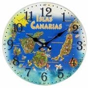Canary Islands Wall Clock