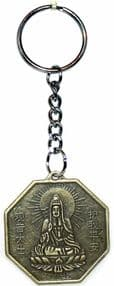 Lucky Chinese Bagua Coin Keyring 35 mm