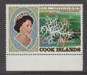 COOK ISLANDS - 1983 Surcharges $5.60 on $6 - UM