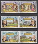 JERSEY - 1982 Links with France (6v) - UM / MNH