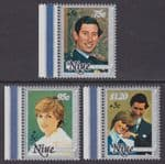 NIUE - 1981 International Year for Disabled Persons (3v) - UM / MNH