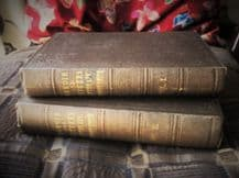 2 ANTIQUE HB BOOKS MEMOIR & LETTERS OF REV SYDNEY SMITH 1855 2ND ED LADY HOLLAND