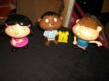 3 X 2002 MCDONALDS TOYS PERFECT PRUDENCE + FORGETFUL FIONA + WIDE AWAKE WESLEY