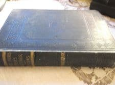 ANTIQUE HB BOOK THACKERAY ESSAYS SKETCHES & REVIEWS VOL XXV 1885