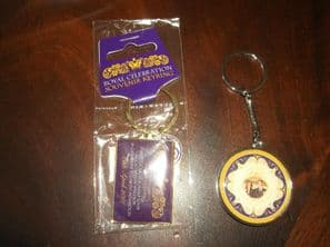 BN IN SEALED BAG KEYRING + ANOTHER SOUVENIR WILLIAM & CATHERINE WEDDING 2011