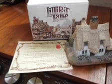 COLLECTABLE LILLIPUT LANE COTTAGE WITH ORIGINAL BOX & DEED CLARE COTTAGE