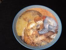 """COLLECTABLE LIMITED EDITION PLATE SULAMITH WULFING 1982 DIE MUSIK 8"""""""